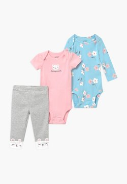 Carter's - FLORAL SET - Body - blue/light pink