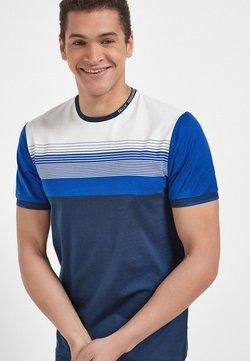 Next - BLOCKING  - T-Shirt print - blue