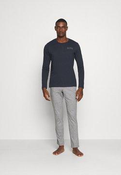 Marc O'Polo - LOUNGESET CREW NECK - Pyjama - blue
