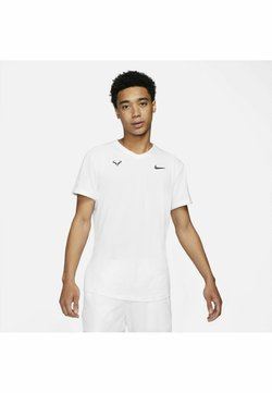 Nike Performance - T-shirt con stampa - white/white/white/black