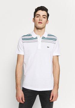 Lacoste - PH5101-00 - Poloshirt - white/navy blue/niagara blue