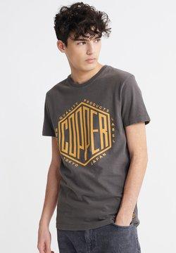 Superdry - T-shirt imprimé - vintage black