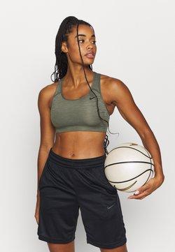 Nike Performance - BRA NON PAD - Sports bra - cargo khaki/black