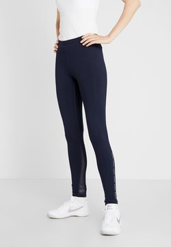 Lacoste Sport - Tights - navy blue/white