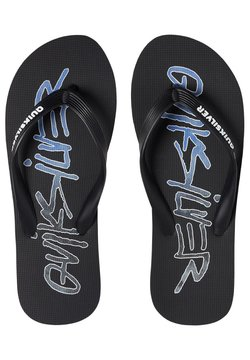Quiksilver - Tongs - black/blue/white