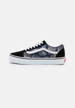 Vans - OLD SKOOL UNISEX - Sneakersy niskie - black/true white