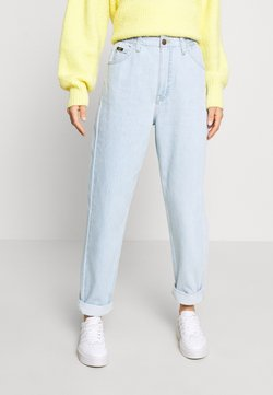 Lee - ELASTICATED MOM - Jeans Straight Leg - bleached denim