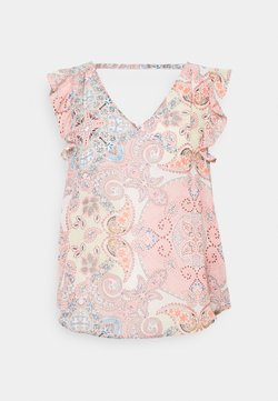 ONLY - ONLALLY CAPSLEEVE OPEN BACK - Top - sugar coral