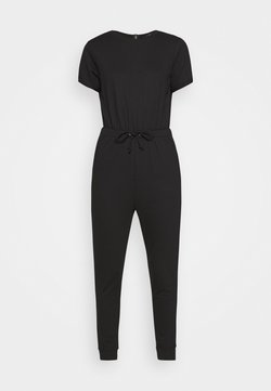 Missguided Petite - DRAWSTRING JOGGER CUFF - Combinaison - black