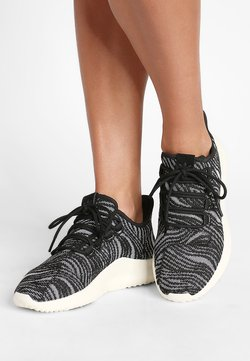 adidas Originals - TUBULAR SHADOW - Sneaker low - black/offwhite