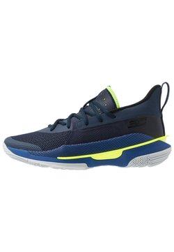 Under Armour - CURRY 7 - Basketballschuh - light blue