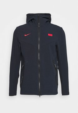Nike Performance - FRANKREICH HOODIE - Landsholdstrøjer - dark obsidian/university red