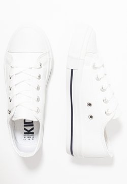 Cotton On - CLASSIC TRAINER LACE UP - Sneakers laag - white smooth