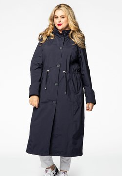 Yoek - WITH BUTTONS - Parka - navy