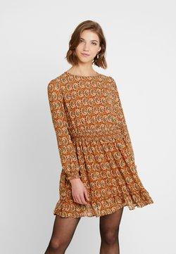 ONLY - ONLKIARA SHORT DRESS - Korte jurk - beige