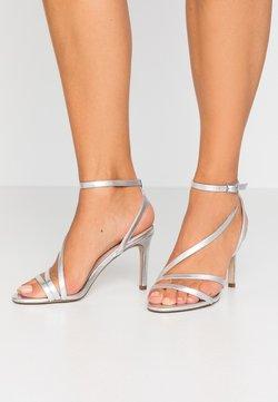 Zign - High Heel Sandalette - silver