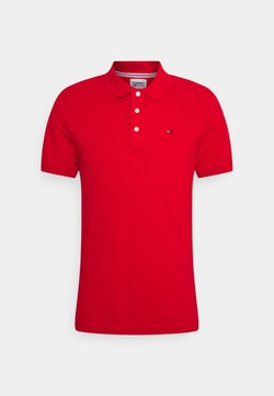 Tommy Jeans - ORIGINAL FINE SLIM FIT - Polo - red