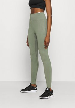 Smilodox - SEAMLESS DAMEN BLOOM - Trikoot - olive