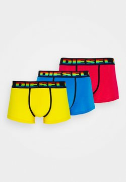 Diesel - UMBX-DAMIENTHREEPACK BOXER-SHORTS 3 PACK - Shorty - blue/pink/yellow