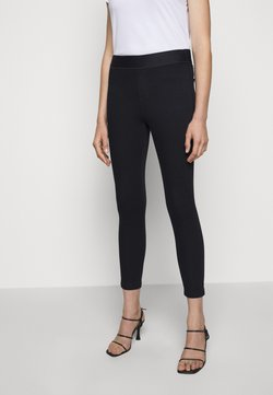 J Brand - DELLAH HIGH RISE - Jeggings - seriously black