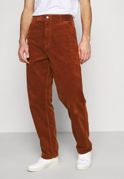 Carhartt WIP - SINGLE KNEE PANT COVENTRY - Pantaloni - brandy rinsed
