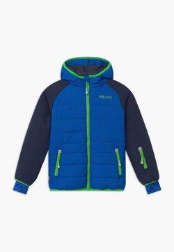 TrollKids - KIDS HAFJELL SNOW JACKET PRO - Kurtka narciarska - navy/med blue/green