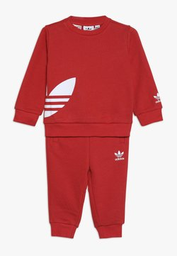 adidas Originals - BIG TREFOILCREW SET - Trainingsanzug - red/white