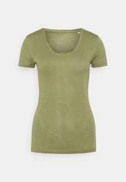 Marc O'Polo - TWISTED DEEP - T-Shirt basic - dried sage