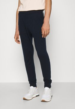 FTC Cashmere - TROUSERS SEACELL - Verryttelyhousut - midnight