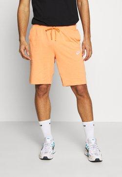 Nike Sportswear - CLUB - Short - orange trance/white