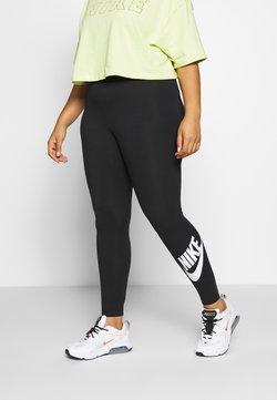 Nike Sportswear - LEGASEE PLUS - Leggings - Trousers - black/white