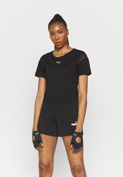 Puma - PAMELA REIF X PUM TEE BACK CUTOUT - T-Shirt print - black