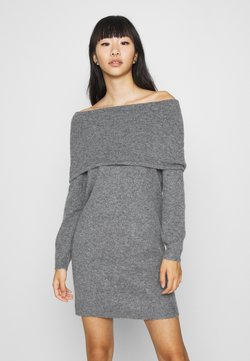 ONLY - ONLMARLI LIFE DRESS  - Strickkleid - dark grey