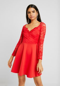 Nly by Nelly - OFF SHOULDER SKATER - Vestido de tubo - red