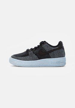 Nike Sportswear - AIR FORCE 1 CRATER UNISEX - Sneaker low - black/black-chambray blue