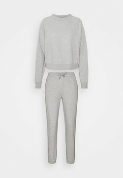 ONLY Tall - ONLZOEY LIFE SET - Sweatshirt - light grey melange