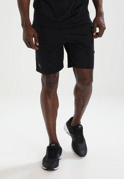Under Armour - MK1 SHORT - kurze Sporthose - black