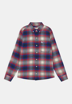 Abercrombie & Fitch - Camicia - navy/red/white