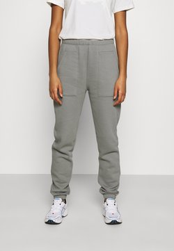 Nly by Nelly - COZY POCKET PANTS - Jogginghose - greige