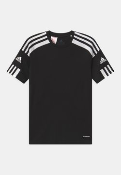 adidas Performance - SQUAD UNISEX - Printtipaita - black/white