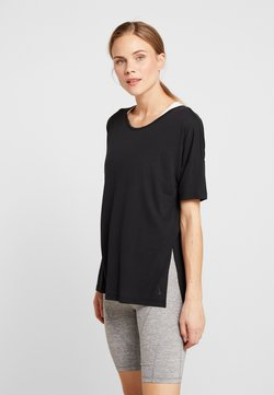 Nike Performance - YOGA LAYER - T-shirt basique - black