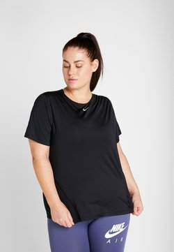 Nike Performance - PLUS - T-Shirt basic - black/white