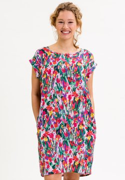 UVR Berlin - ANNABELLINA - Jerseykleid - bunt  floraler print