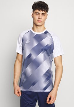 Umbro - TRAINING GRAPHIC TEE - T-Shirt print - brilliant white