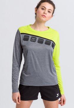Erima - Funktionsshirt - gray/green
