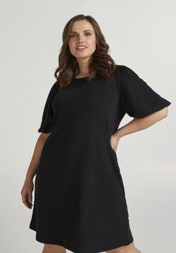 Zizzi - Vestido de punto - black