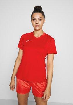 Nike Performance - DRY ACADEMY 19 - T-Shirt print - university red/white