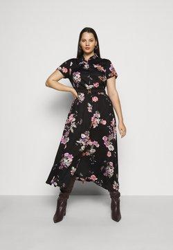 Vero Moda Curve - VMLOVELY  DRESS - Blusenkleid - black