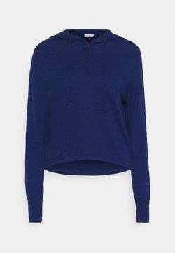 Filippa K - CHIARA HOODIE - Strikkegenser - marine blue