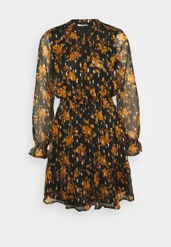 ONLY - ONLELLA DETAIL SHORT DRESS - Freizeitkleid - black